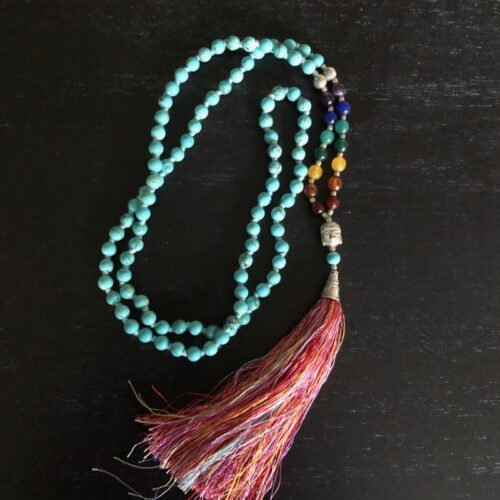 Collier inspiration turquoise
